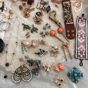 Lot of Costume and Silver Jewelry